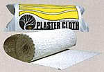 Plaster Cloth -- 8'' X 10' Roll -- Model Railroad Mold Accessory -- #c1203