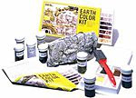 Earth Color Kit -- 8 Colors 1 oz. -- Model Railroad Scenery Supply -- #c1215