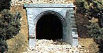 Masonry Arch Culvert (2) -- HO Scale -- Model Railroad Miscellaneous Scenery -- #c1263