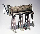 Scenic Details Branch Line Water Tower Kit -- HO Scale Model Railroad Accessory -- #d241