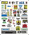 Product & Advertising Signs -- Model Railroad Decal -- #dt554