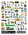 Mini Product Logos -- Model Railroad Decal -- #dt570