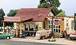 Pre-Fab Building -- Sonny's Super Service HO Scale -- HO Scale Model Railroad Building -- #pf5183