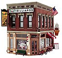Corner Emporium -- O Scale -- O Scale Model Railroad Building -- #pf5893