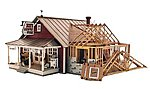 Country Store Expansion -- O Scale -- O Scale Model Railroad Building -- #pf5894