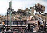 HO Trackside Scene Kit -- Caboose & Sand Facility -- HO Scale Model Railroad Building -- #ts152