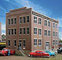 Engineering Office - Kit - 10-1/8 x 5-3/4 x 6-3/16'' -- HO Scale Model Railroad Building -- #2967