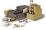 Superior Paper Company - Kit -- N Scale Model Railroad Building -- #3237