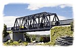 Double-Track Truss Bridge - Kit - 10 x 2-3/4 x 2-3/4'' -- N Scale Model Railroad Building -- #3242
