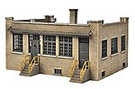 Industry Office - Kit - 4-3/4 x 6-1/4 x 2-3/4'' -- HO Scale Model Railroad Building -- #4020