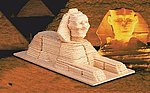 The Sphinx (9'' Long) -- Wooden 3D Jigsaw Puzzle -- #1411