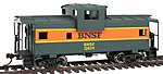 Wide Vision Caboose Burlington Northern Santa Fe -- Model Train Freight Car -- HO Scale -- #1520