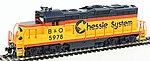 EMD GP9M Standard DC Chessie System #5978 -- HO Scale Model Train Diesel Locomotive -- #452