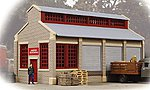 United Trucking Assembled -- Model Railroad Building -- HO Scale -- #804