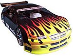 Paint Mask Racing Flames