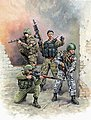 Modern Russian Special Forces (4) -- Plastic Model Military Figure -- 1/35 Scale -- #3561