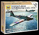 British Light Bomber Fairey Battle -- 1/144 Scale Plastic Model Airplane -- #6218