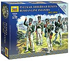Russian Line Infantry Napoleonic Wars -- 1/72 Scale Plastic Model Military Figure -- #6808