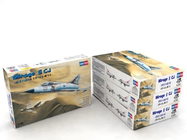 HobbyBoss 1//48 Mirage III CJ Model Kit # 80316 for sale online