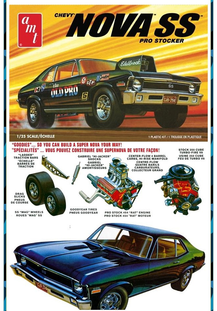 Gallery Pictures AMT 1972 Chevy Nova SS'Old Pro'2T