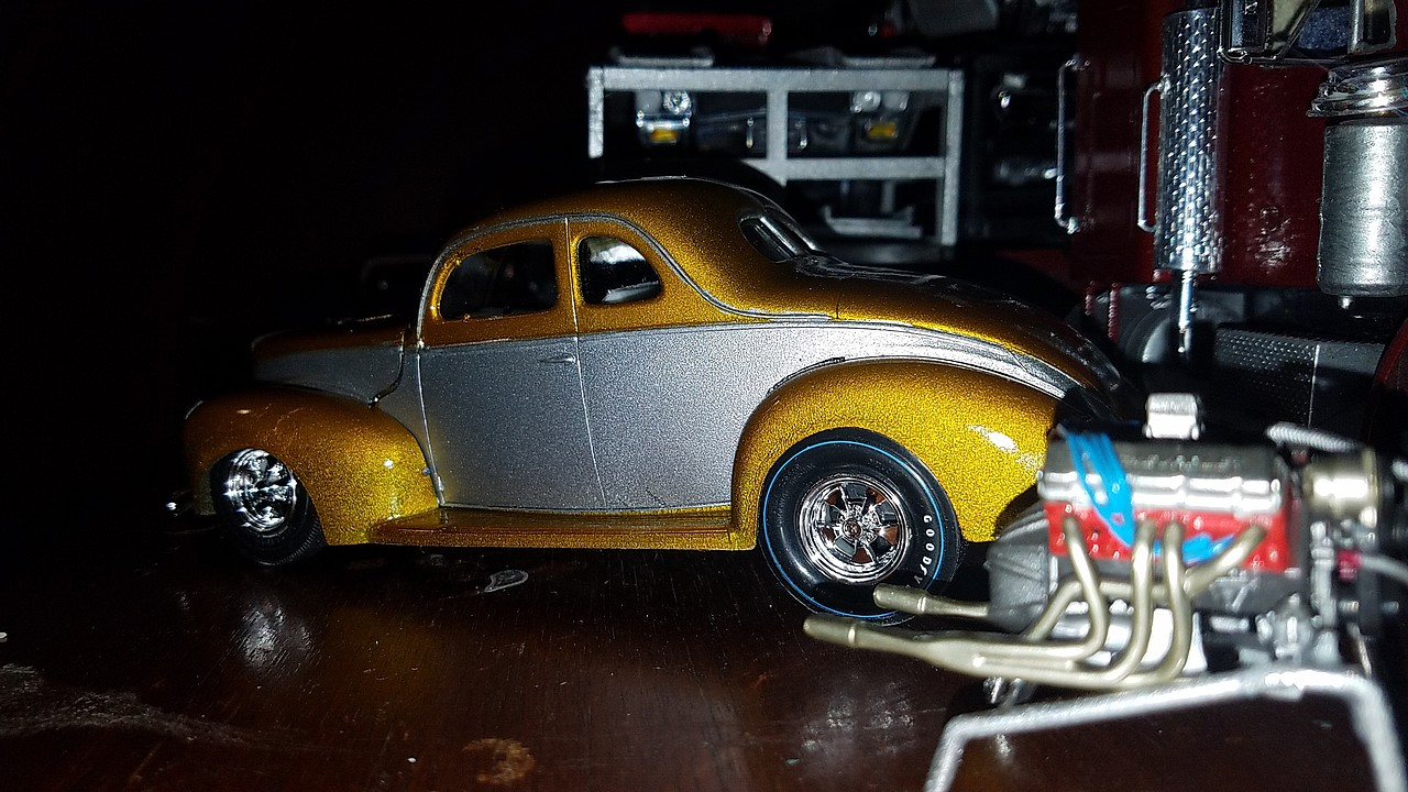 1940 Ford Coupe Original Art Series Plastic Model Car Kit 1 25 Scale 730 12 Pictures By Carfig321