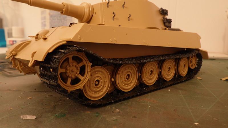 Dragon DML 66cm Transport Track for King Tiger Plastic Panther Track Set Model Kit Unassembled 135
